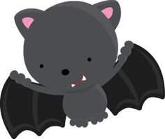 collection of halloween. Bat clipart cute