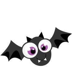 Bat clipart cute. Ppbn designs halloween and