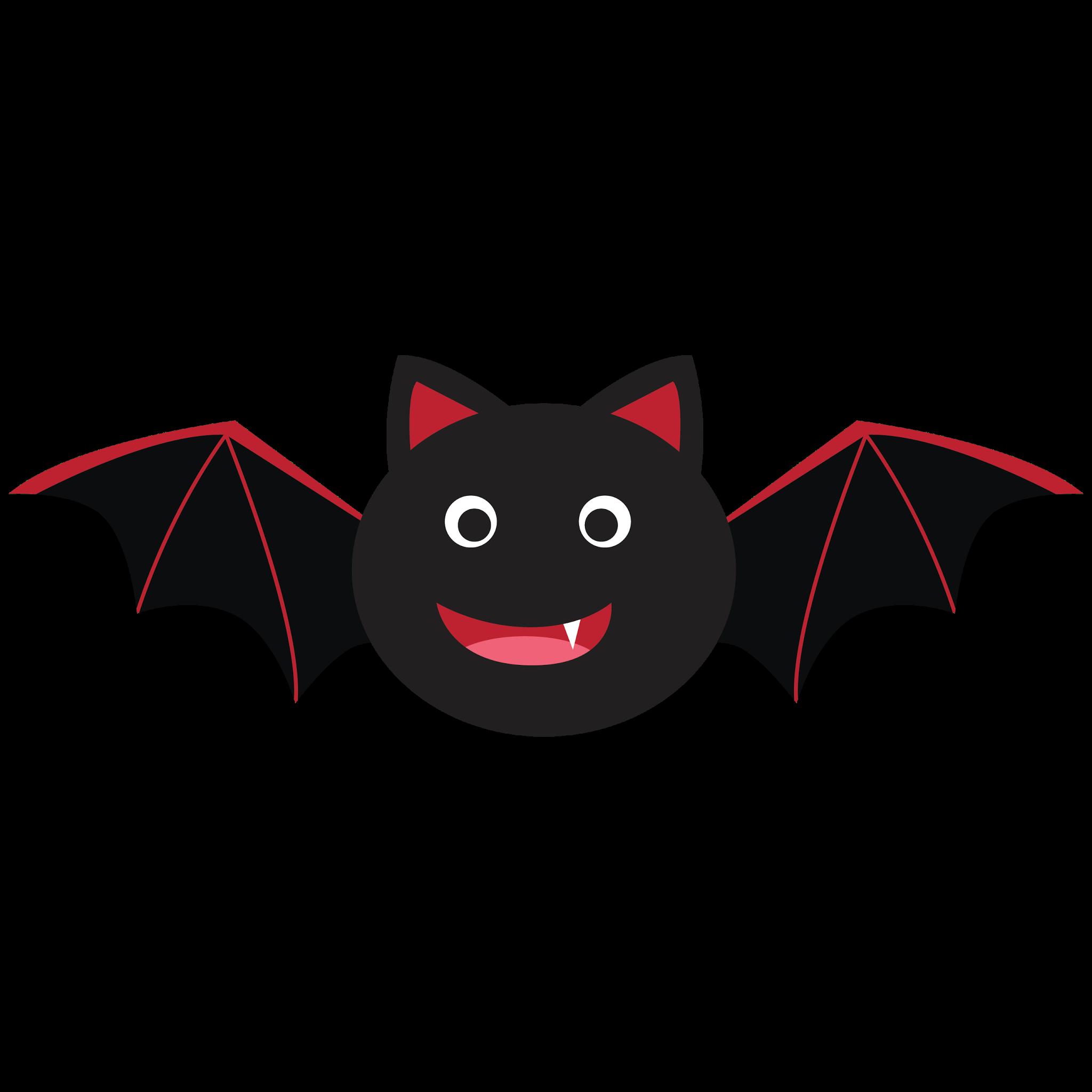 Number 1 clipart kid. Cute bat