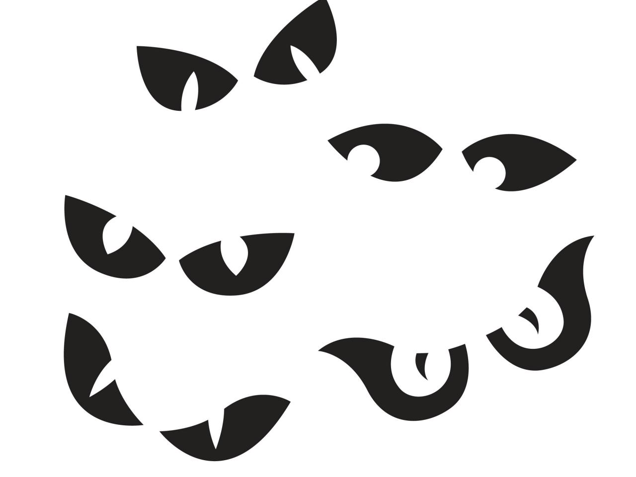 Scary silhouette at getdrawings. Bat clipart eye