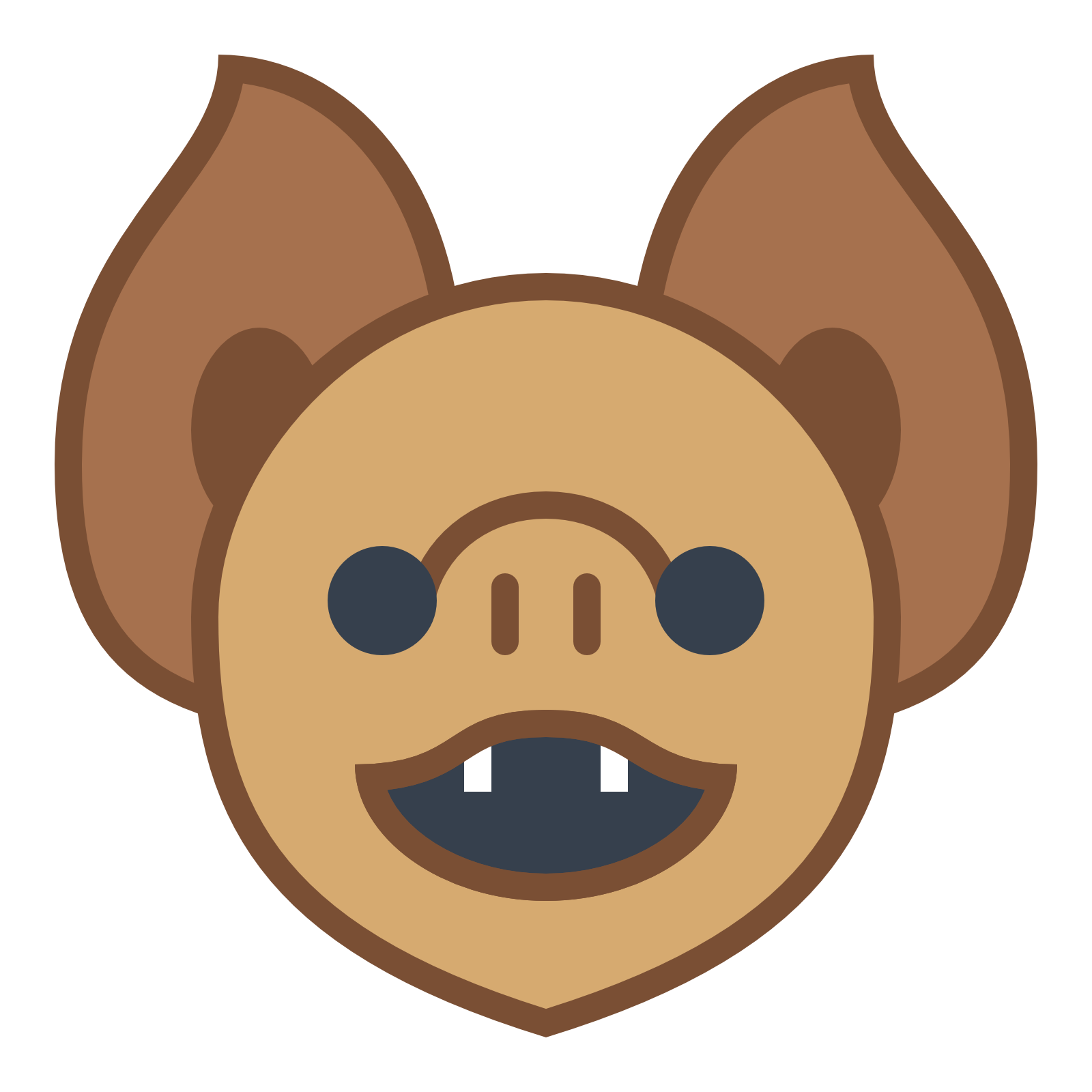 collection of mouth. Clipart face bat