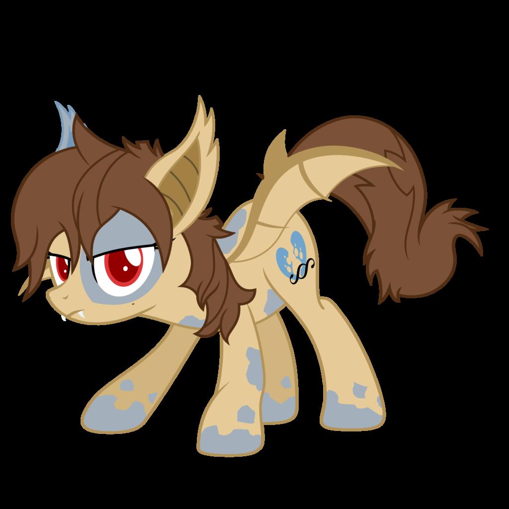 Sprinkle paw vampire pony. Bat clipart fruit bat
