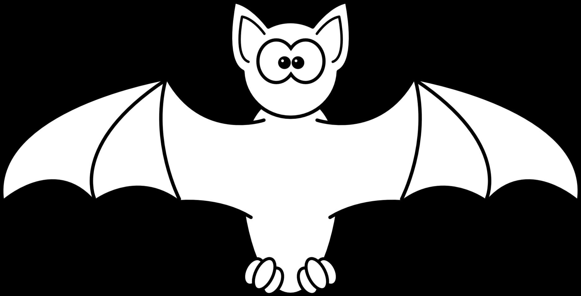Bat clipart line art. Halloween bats free download