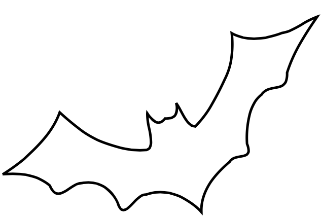 Battery clipart outline. Wanted of a bat
