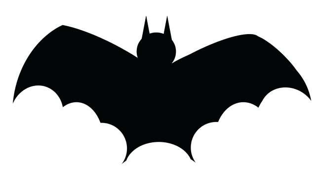 Bat clipart printable. Kishfanclub info bats clip