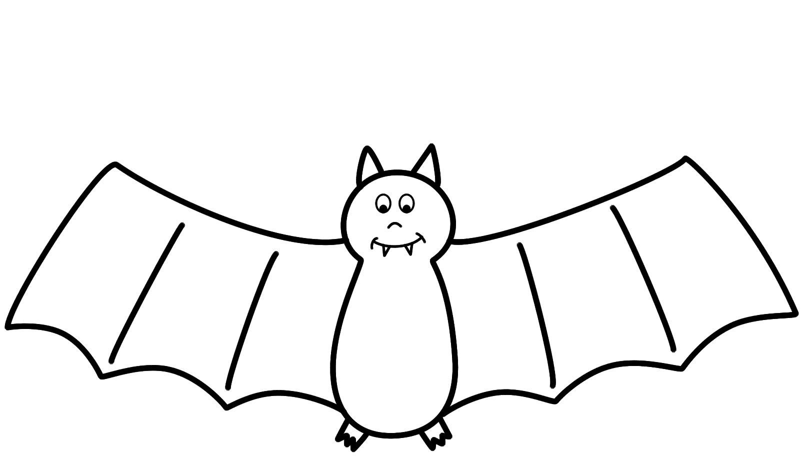 Limited pictures for kids. Bat clipart printable