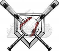 With flames clip art. Bat clipart softball