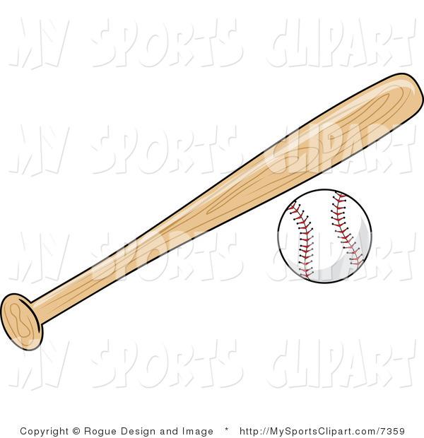Bat clipart sport. Sports clip art of