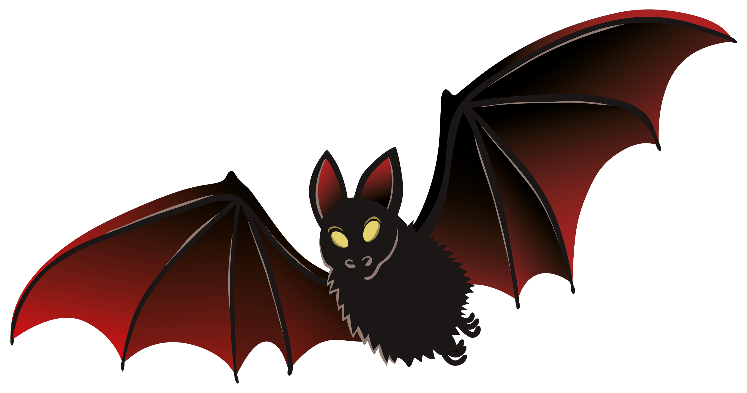 Dark vampire transparent png. Clipart cat bat