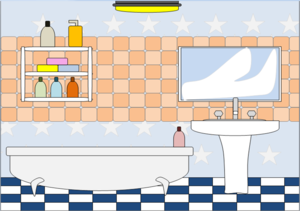 Bathtub clipart animated. Bathroom free images at