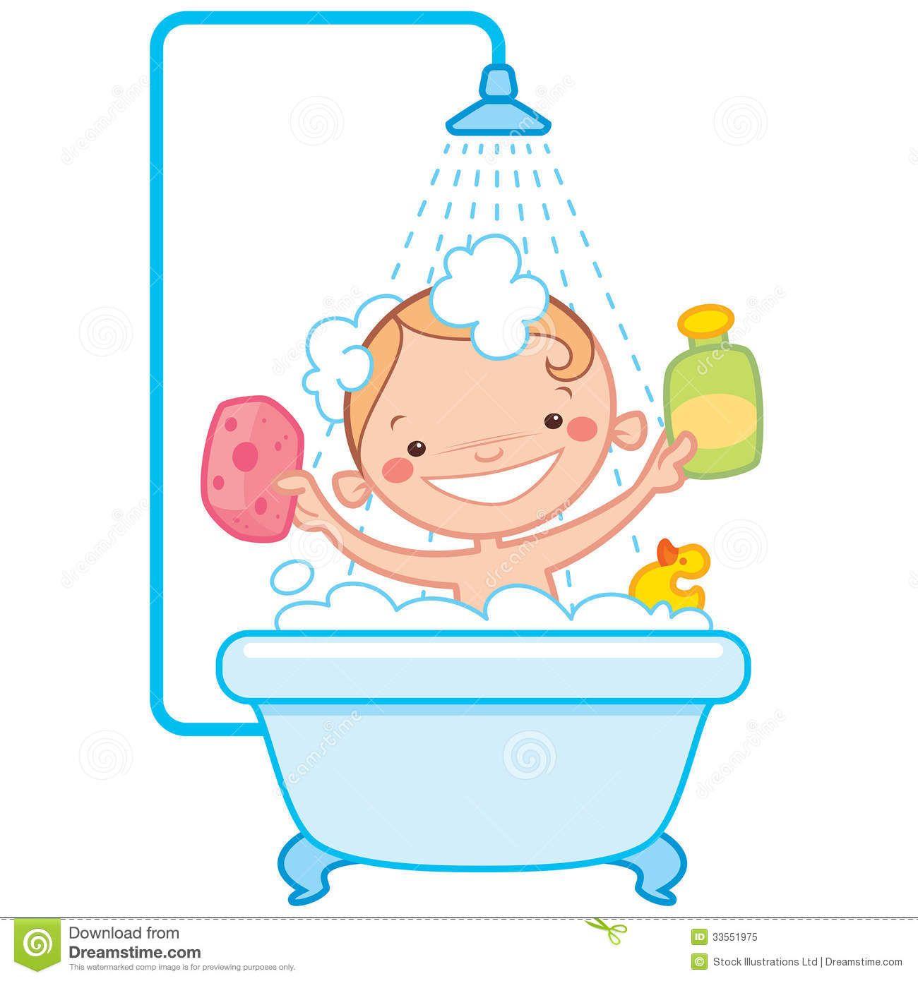 Bathing quenalbertini kids bathtime. Bath clipart animated
