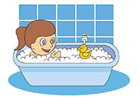 Search results for bath. Bathroom clipart animated