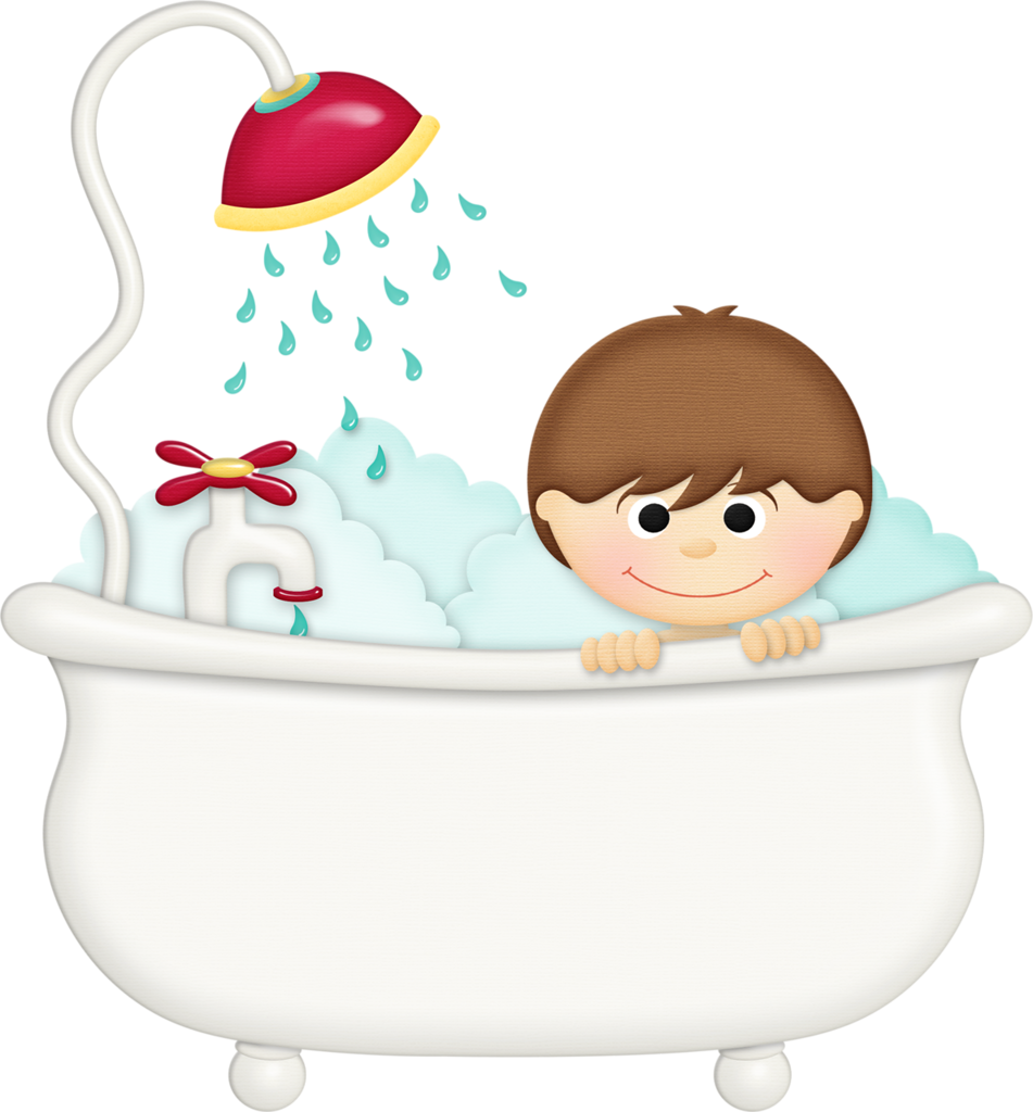 showering clipart hygiene