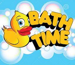 Free bathtime. Bath clipart bath time