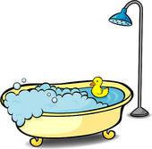 Free bathtub cliparts download. Showering clipart bathub
