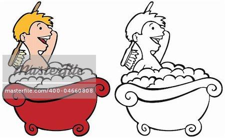 Clean free download best. Bath clipart bathroom