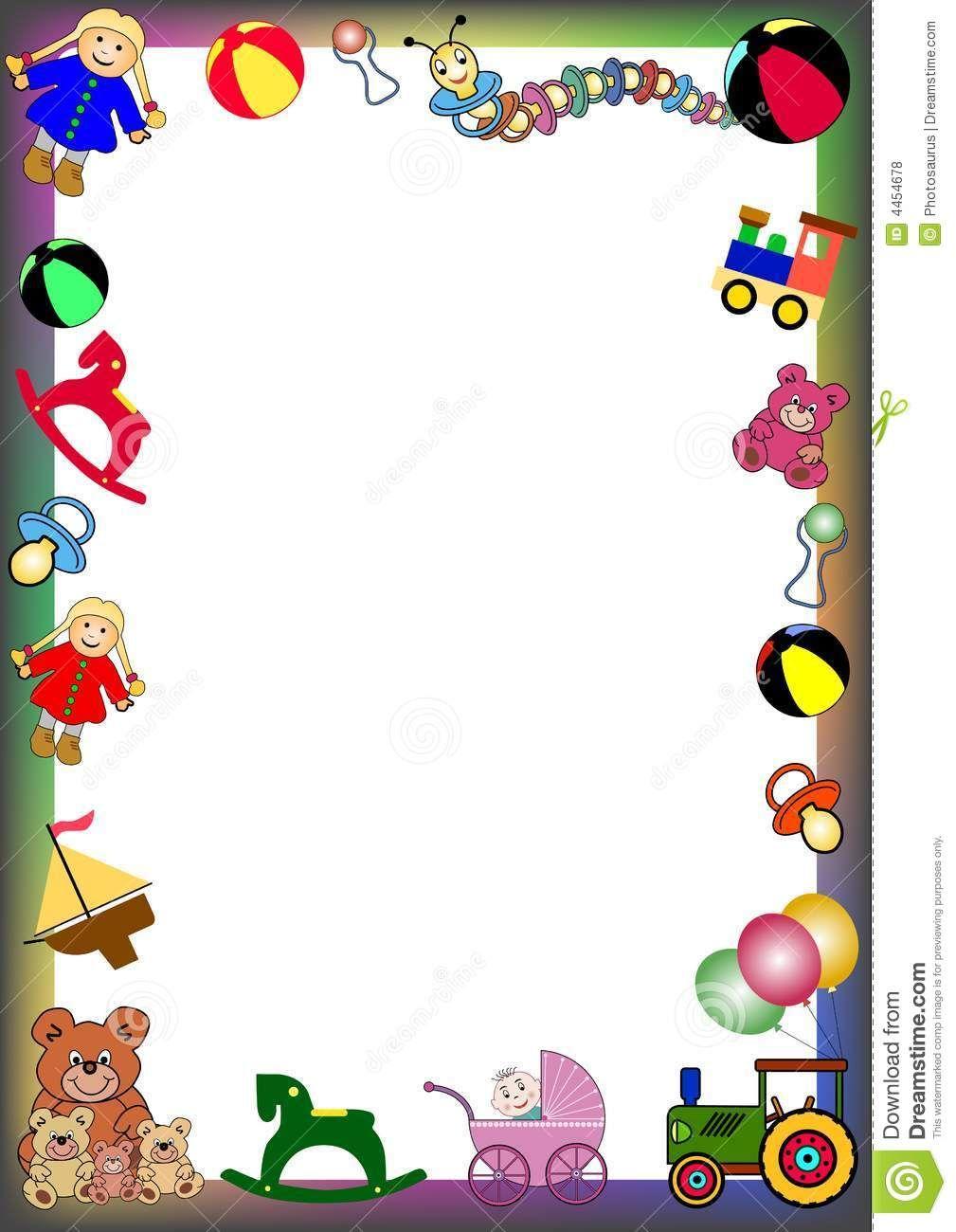 Toys google search and. Bath clipart border