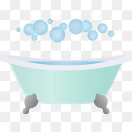 Bubble bath png images. Tub clipart foam