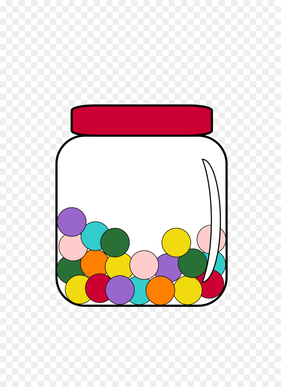 Bath clipart capacity. Chewing gum candy jar
