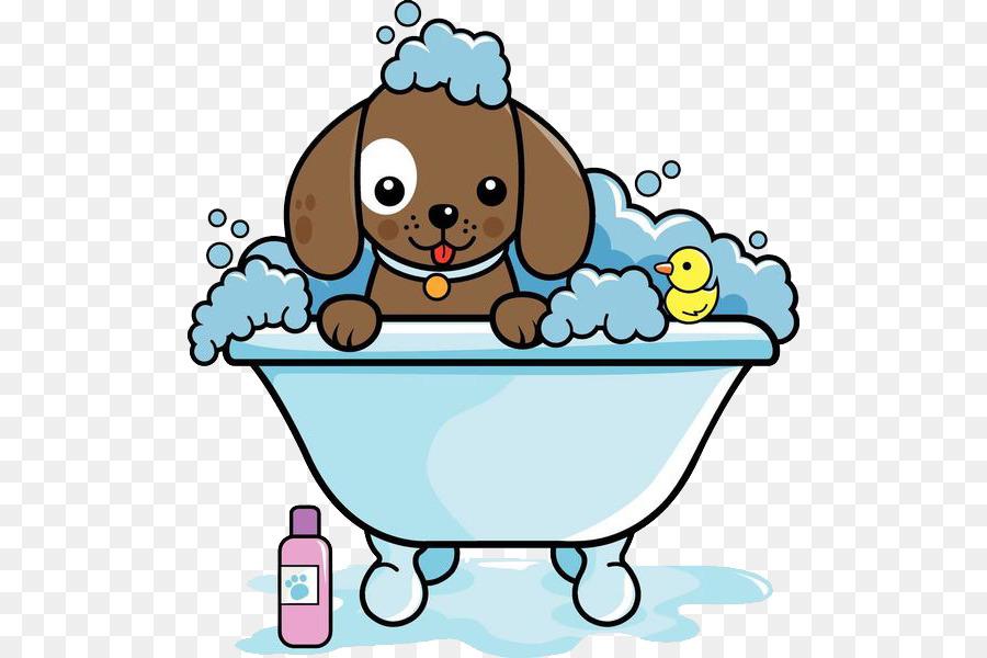 Bath clipart cat. Dog grooming clip art