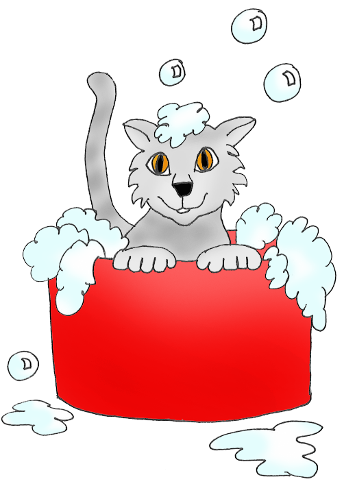 Kitty clipart cartoon. Cat clip art sketches