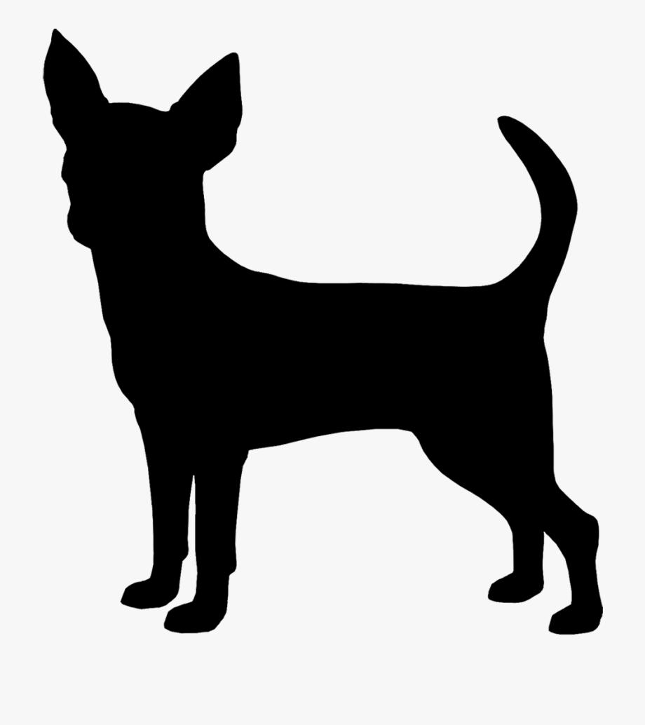 Chihuahua clipart chihuahua silhouette.