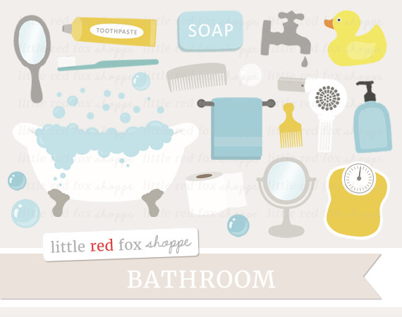 Brush clipart bathroom. Bath time clip art