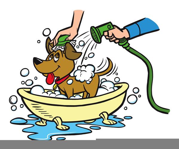 Getting free images at. Bath clipart dog bath