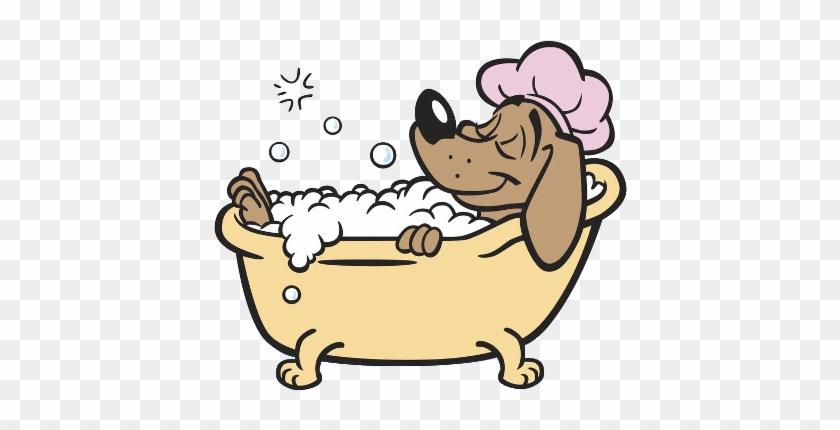 Taking a free transparent. Bath clipart dog bath