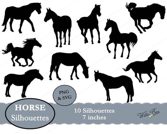 Bath clipart horse. Silhouette clip art inches