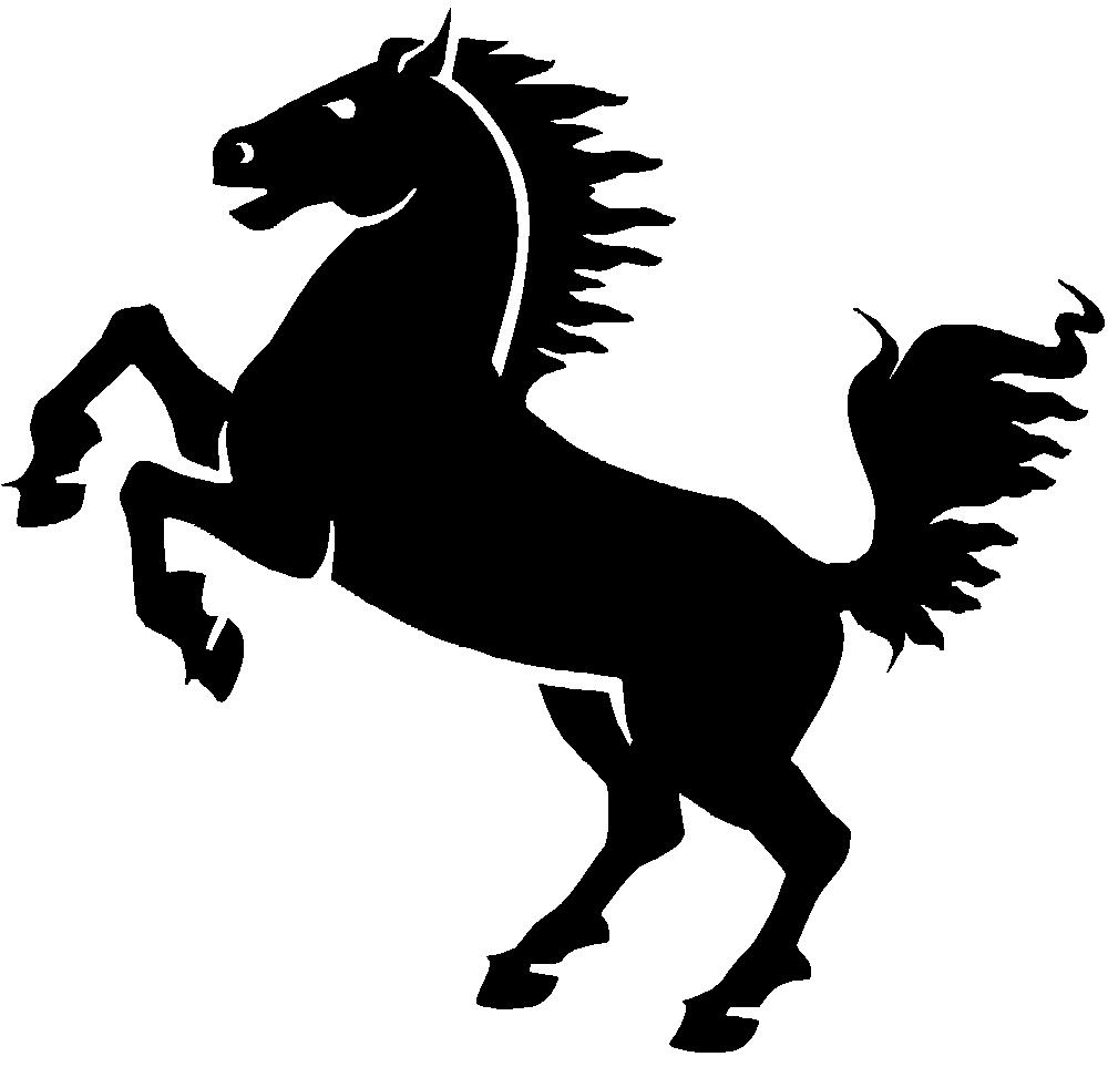 Clipart horse file. Onlinelabels clip art black