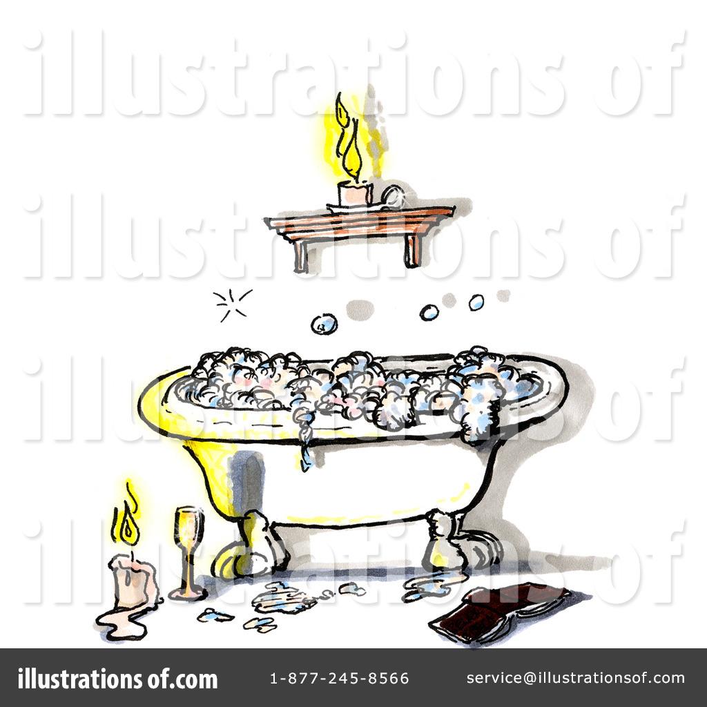 By spanky art royaltyfree. Bath clipart illustration