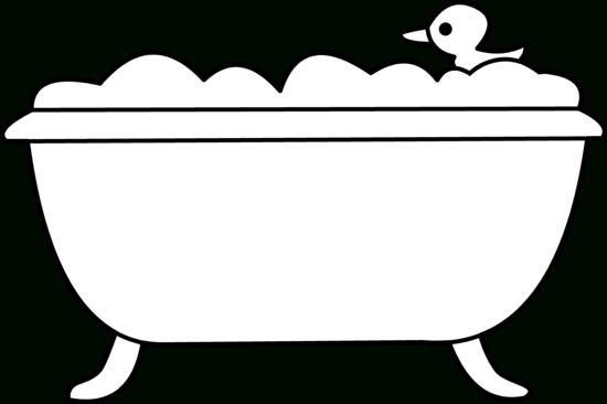 Bath clipart outline. Black and white writings