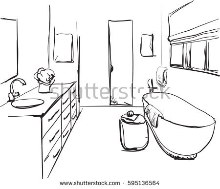 for free download. Bath clipart outline