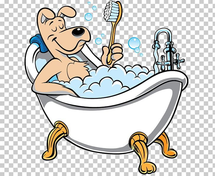 Poodle cat dog grooming. Bath clipart puppy