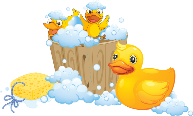 National day baby . Bath clipart rubber ducky