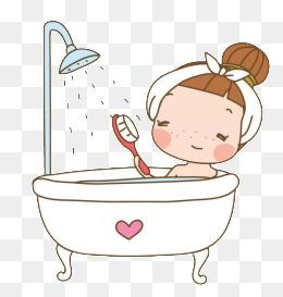 Bath clipart take. Bathing png images vectors
