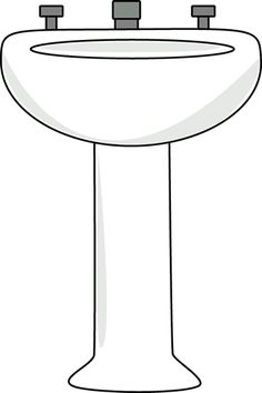 Bath clipart toilet. Cartoon clip art image