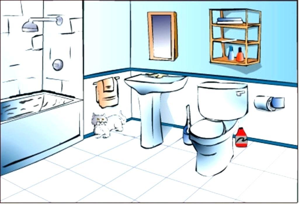 Bathroom for your ideas. Bath clipart toilet