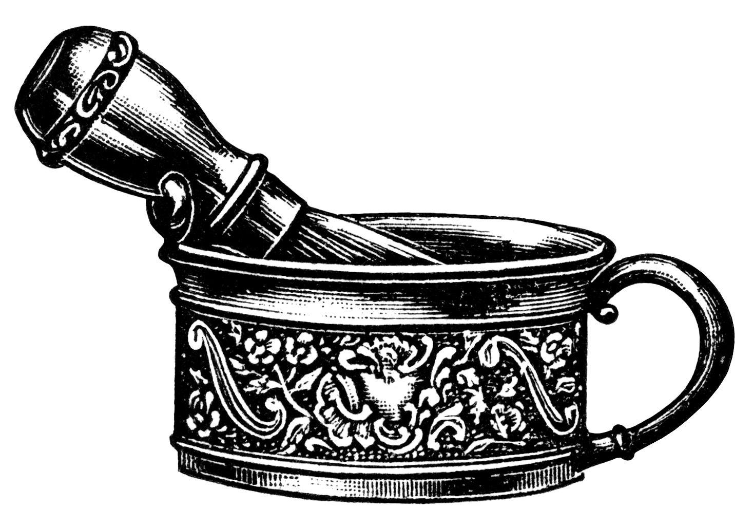 Bath clipart victorian. Men s shaving mug