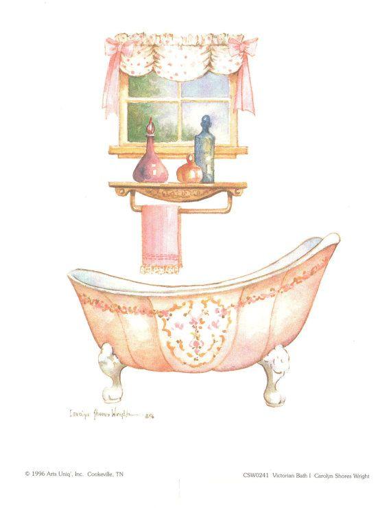 best era images. Bath clipart victorian