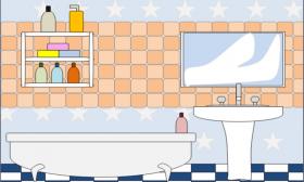 Clipart bathroom. Item panda free images