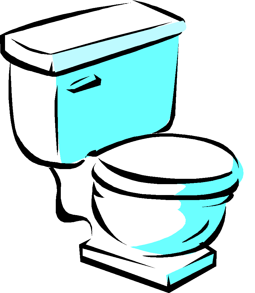 . Furniture clipart toilet