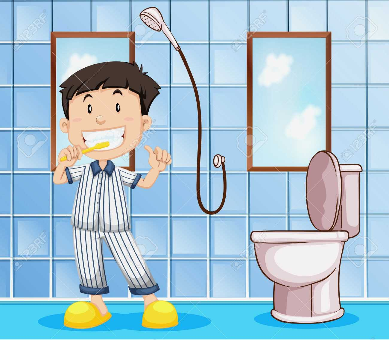 Clipart bathroom. Complete ideas example home