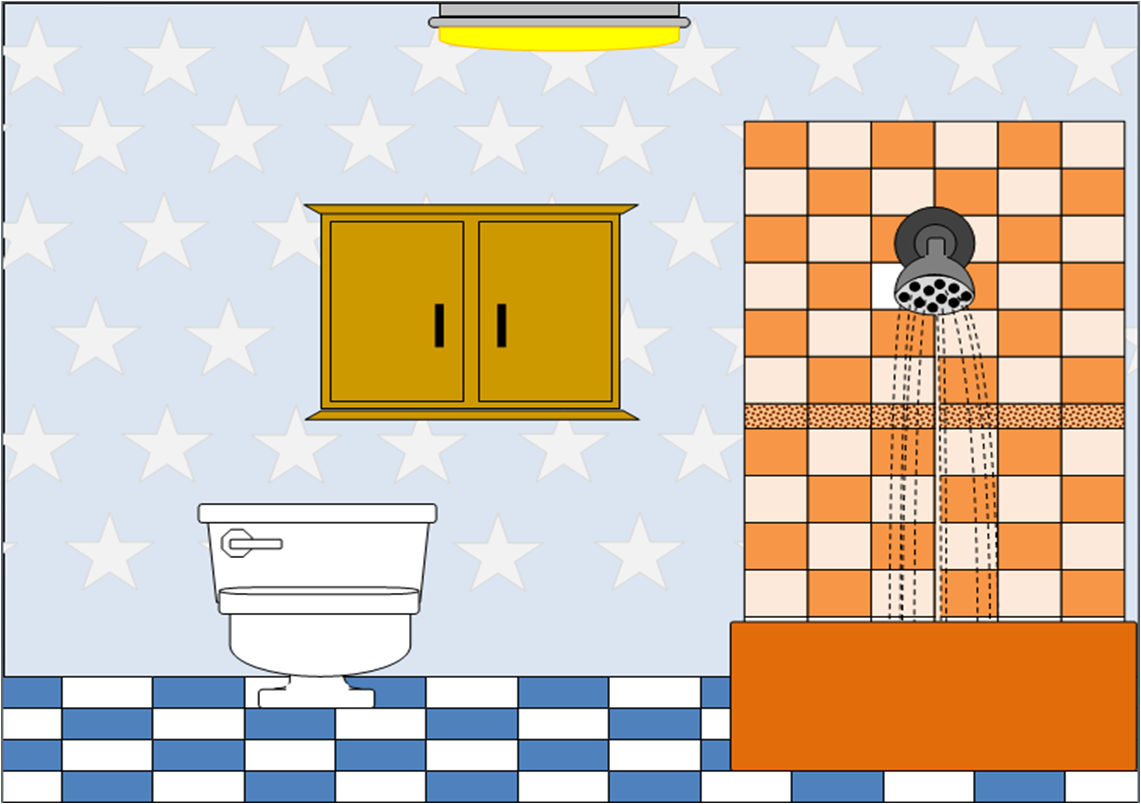 Bath clipart animated. Bathroom free images at