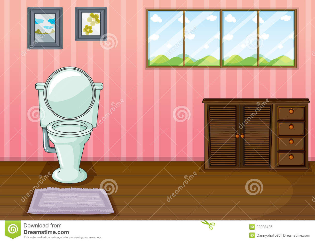 School station . Bathroom clipart comfort room