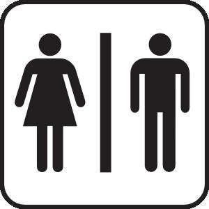 Bathroom clipart comfort room. Men women clip art