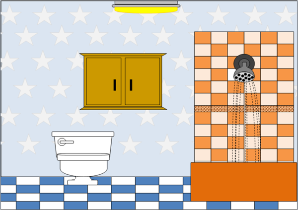 Bathroom clipart comfort room. Free images at clker