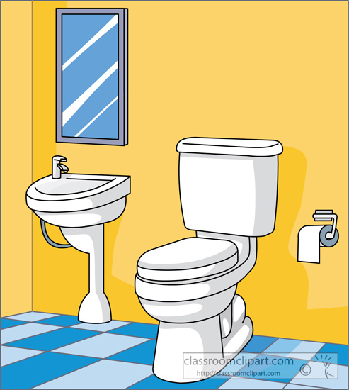 collection of clean. Bathroom clipart comfort room