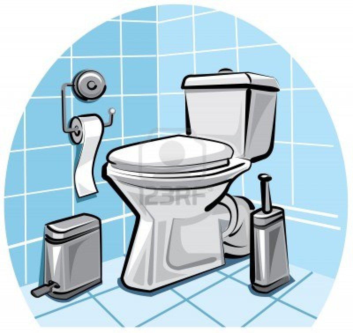 Bathroom clipart comfort room. School station